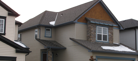 Asphalt roofing materials asphalt shingles daza roofing for Most expensive roof material